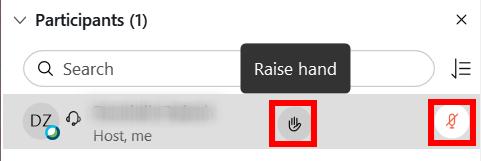 Podnoszenie ręki